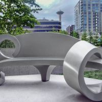 Olympic Sculpture Park Bench